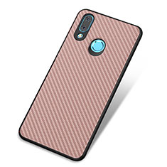 Coque Silicone Housse Etui Gel Serge pour Huawei Nova 3 Or Rose
