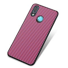 Coque Silicone Housse Etui Gel Serge pour Huawei Nova 3 Violet