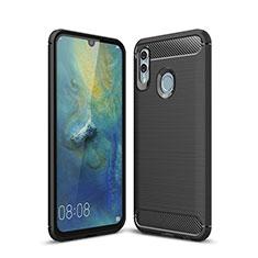 Coque Silicone Housse Etui Gel Serge pour Huawei P Smart (2019) Noir