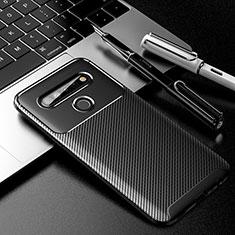 Coque Silicone Housse Etui Gel Serge pour LG K61 Noir