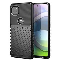 Coque Silicone Housse Etui Gel Serge pour Motorola Moto G 5G Noir