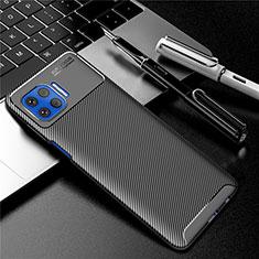 Coque Silicone Housse Etui Gel Serge pour Motorola Moto G 5G Plus Noir
