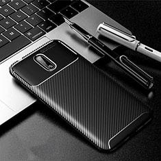 Coque Silicone Housse Etui Gel Serge pour Nokia 2.3 Noir