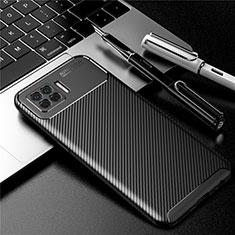 Coque Silicone Housse Etui Gel Serge pour Oppo A73 (2020) Noir