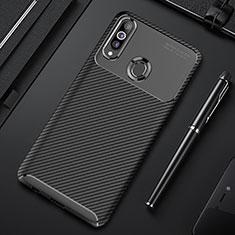 Coque Silicone Housse Etui Gel Serge pour Samsung Galaxy A20s Noir