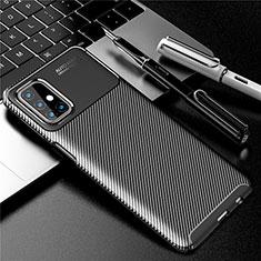 Coque Silicone Housse Etui Gel Serge pour Samsung Galaxy M31s Noir
