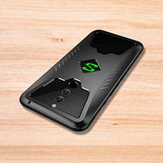 Coque Silicone Housse Etui Gel Serge pour Xiaomi Black Shark Helo Noir