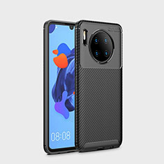 Coque Silicone Housse Etui Gel Serge S01 pour Huawei Mate 30 Pro 5G Noir