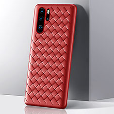 Coque Silicone Housse Etui Gel Serge S01 pour Huawei P30 Pro Rouge