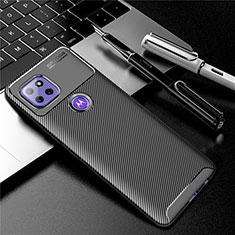 Coque Silicone Housse Etui Gel Serge S01 pour Motorola Moto G 5G Noir
