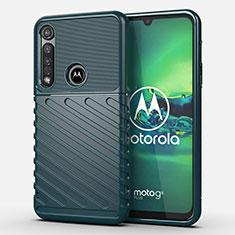Coque Silicone Housse Etui Gel Serge S01 pour Motorola Moto G8 Plus Vert