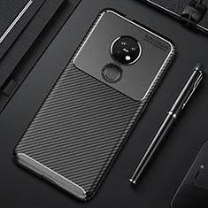 Coque Silicone Housse Etui Gel Serge S01 pour Nokia 6.2 Noir