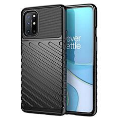 Coque Silicone Housse Etui Gel Serge S01 pour OnePlus 8T 5G Noir