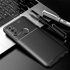 Coque Silicone Housse Etui Gel Serge S01 pour OnePlus Nord N100 Noir