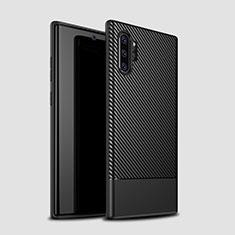 Coque Silicone Housse Etui Gel Serge S01 pour Samsung Galaxy Note 10 Plus 5G Noir