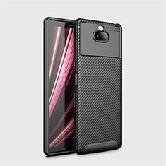 Coque Silicone Housse Etui Gel Serge S01 pour Sony Xperia 10 Noir
