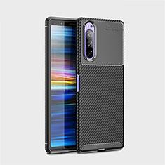 Coque Silicone Housse Etui Gel Serge S01 pour Sony Xperia 5 Noir