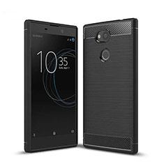 Coque Silicone Housse Etui Gel Serge S01 pour Sony Xperia L2 Noir