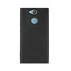 Coque Silicone Housse Etui Gel Serge S01 pour Sony Xperia XA2 Ultra Noir