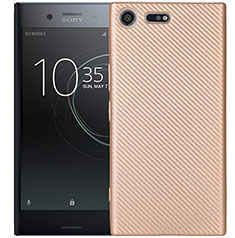 Coque Silicone Housse Etui Gel Serge S01 pour Sony Xperia XZ1 Compact Or