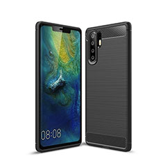 Coque Silicone Housse Etui Gel Serge S03 pour Huawei P30 Pro Noir