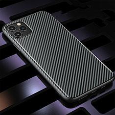 Coque Silicone Housse Etui Gel Serge Y01 pour Apple iPhone 11 Pro Max Noir
