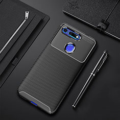 Coque Silicone Housse Etui Gel Serge Y01 pour Huawei Honor View 20 Noir