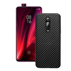 Coque Silicone Housse Etui Gel Serge Y01 pour Xiaomi Mi 9T Pro Noir