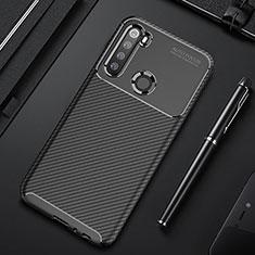 Coque Silicone Housse Etui Gel Serge Y01 pour Xiaomi Redmi Note 8 Noir