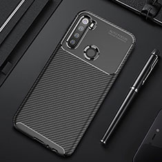 Coque Silicone Housse Etui Gel Serge Y01 pour Xiaomi Redmi Note 8T Noir