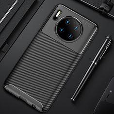 Coque Silicone Housse Etui Gel Serge Y02 pour Huawei Mate 30 Noir