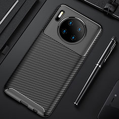 Coque Silicone Housse Etui Gel Serge Y02 pour Huawei Mate 30 Pro 5G Noir
