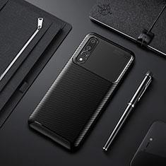 Coque Silicone Housse Etui Gel Serge Y02 pour Huawei P20 Pro Noir