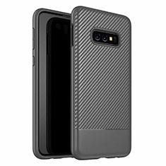 Coque Silicone Housse Etui Gel Serge Y02 pour Samsung Galaxy S10e Noir