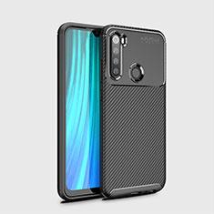 Coque Silicone Housse Etui Gel Serge Y02 pour Xiaomi Redmi Note 8 Noir