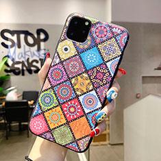 Coque Silicone Motif Fantaisie Souple Couleur Unie Etui Housse H03 pour Apple iPhone 11 Pro Max Mixte