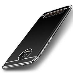 Coque Silicone Souple Couleur Unie Gel pour Motorola Moto Z Play Argent
