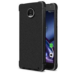 Coque Silicone Souple Couleur Unie Gel pour Motorola Moto Z2 Play Noir