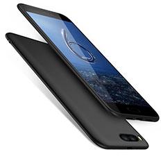 Coque Silicone Souple Couleur Unie Gel pour Xiaomi Mi 6 Noir