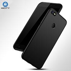 Coque Silicone Souple Couleur Unie Gel pour Xiaomi Redmi Note 5A Prime Noir