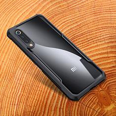 Coque Silicone Souple Miroir M01 pour Xiaomi Mi 9 Noir
