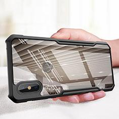 Coque Silicone Souple Miroir M01 pour Xiaomi Mi Mix 3 Noir