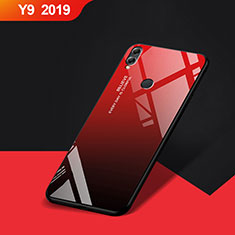 Coque Silicone Souple Miroir pour Huawei Y9 (2019) Rouge