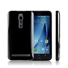 Coque Silicone Souple Transparente Vague S-Line pour Asus Zenfone 2 ZE551ML ZE550ML Noir