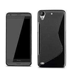 Coque Silicone Souple Vague S-Line pour HTC Desire 530 Noir