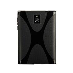 Coque Silicone Souple Vague X-Line pour Blackberry Passport Q30 Noir