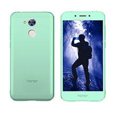 Coque Transparente Integrale Silicone Souple Avant et Arriere Housse Etui pour Huawei Honor 6A Vert