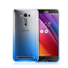 Coque Transparente Rigide Degrade pour Asus Zenfone 2 Laser ZE500KL ZE550KL Bleu