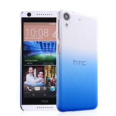 Coque Transparente Rigide Degrade pour HTC Desire 626 Bleu