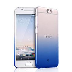 Coque Transparente Rigide Degrade pour HTC One A9 Noir